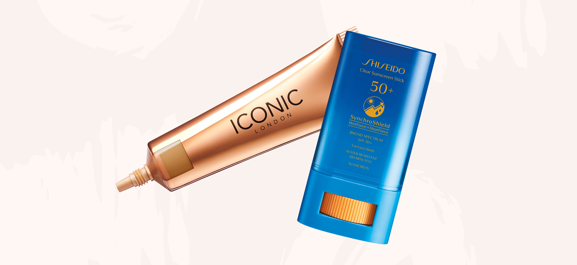 Iconic London with Shiseido Clear Sunscreen Stick 50+ SPF